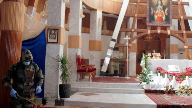 كنيسة سيدة النجاة في العاصمة بغداد