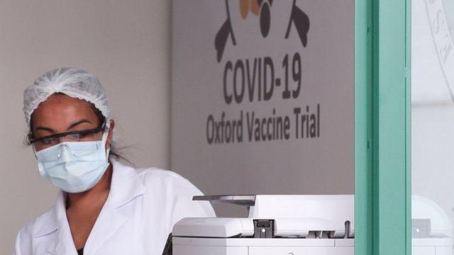 Pruebas de la vacuna de AstraZeneca y Oxford