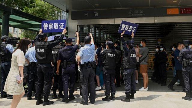 En los últimos días, pequeñas manifestaciones se han sucedido en diversas ciudades chinas.