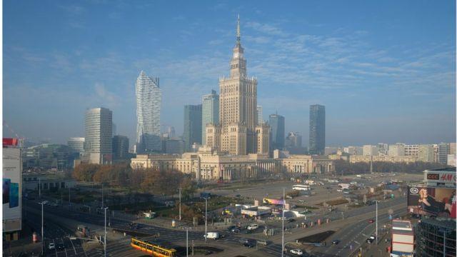 Вид на Варшаву