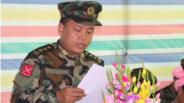 တအာင်းအမျိုးသားလွတ်မြောက်ရေး တပ်မတော် အတွင်းရေးမှူး ဗိုလ်မှူးချုပ် တာဘုန်းကျော်