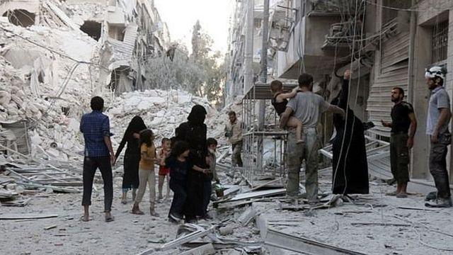 सीरिया का युद्ध