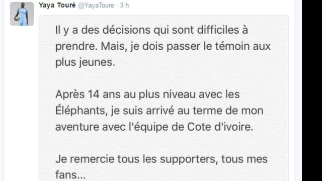Yaya Touré, Côte d'Ivoire