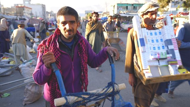 Kabil'de işçiler
