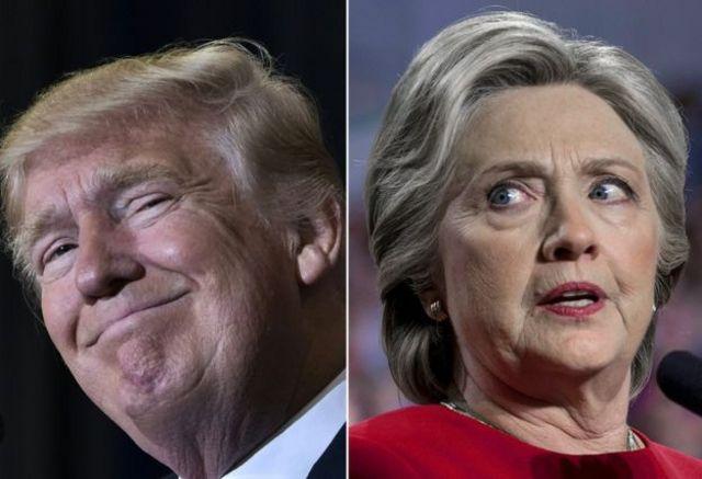 """وصفت كلنتون ترامب بأنه يستأسد على المرأة"""""""