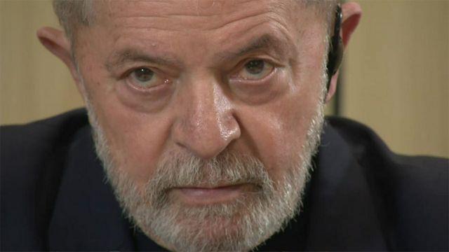 Lula Da Silva desde la prisión en Curitiba en entrevista con la BBC.