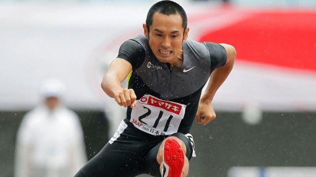 El atleta japonés retirado Dai Tamesue