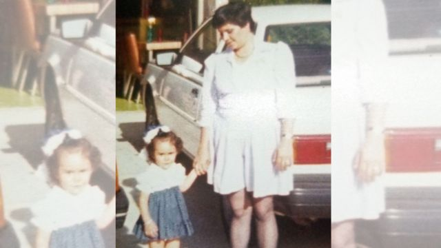 Bertha Loaiza e sua mãe