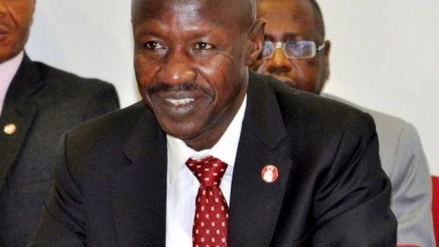 Shugaban Hukumar yaki da cin hanci ta Nigeria EFCC, Ibrahim Magu
