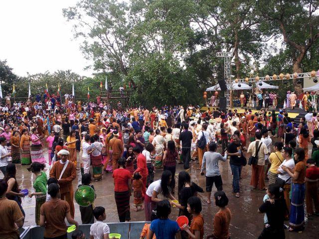ရန်ကုန်, ရှမ်းရိုးရာ သင်္ကြန်ပွဲတော်