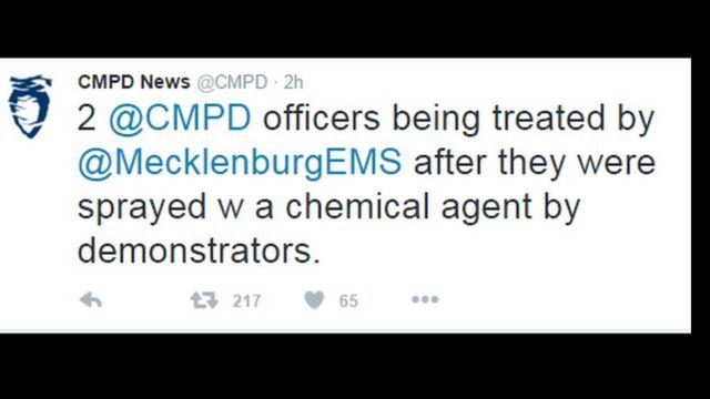Ujumbe wa polisi katika mtandao wa Twitter