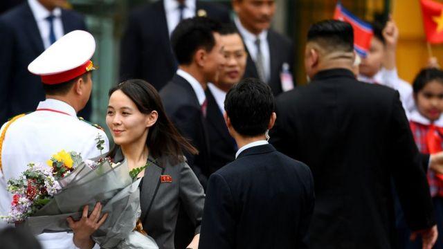 Bà Kim Yo-jong tại Hà Nội