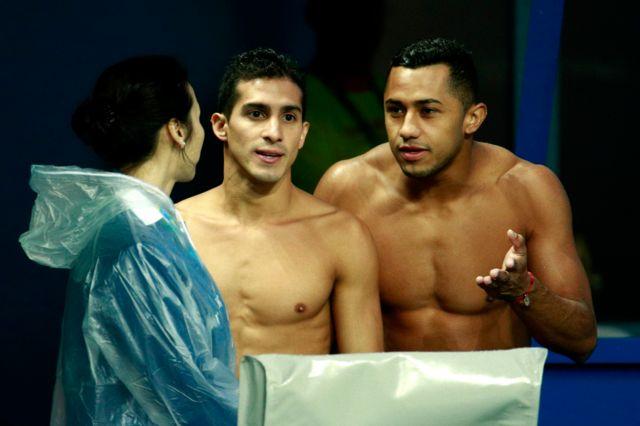 Jahir Ocampo y Rommel Pacheco