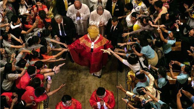 ปิดฉากภารกิจในไทยด้วยการทำพิธีมิสซาเยาวชน ณ อาสนวิหารอัสสัมชัญ บางรัก