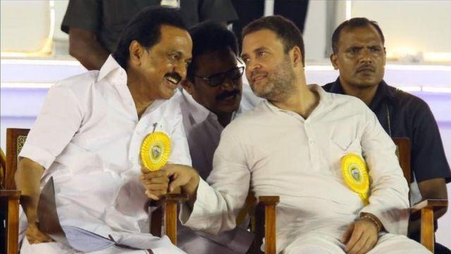 स्टालिन और राहुल गांधी