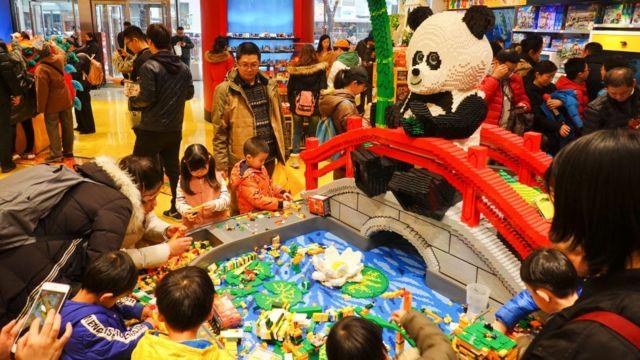 樂高計劃今年在中國新開80家門店