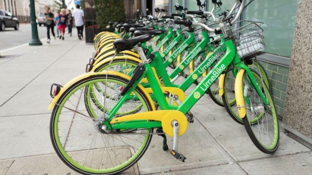 Bicicleta de Lime