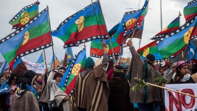 Protesta mapuche