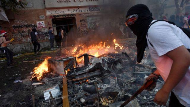 Al gobierno de Duque le preocupa que la protesta sea aprovechada para cometer actos violentos como ha ocurrido en Chile.