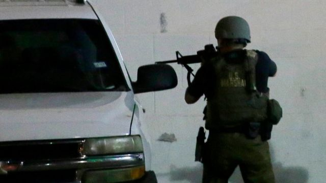 Oficial de policía en el tiroteo de Dallas