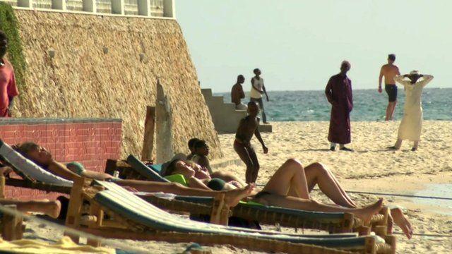 Beach in Zanzibar
