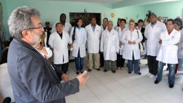 Cubanos do Mais Médicos
