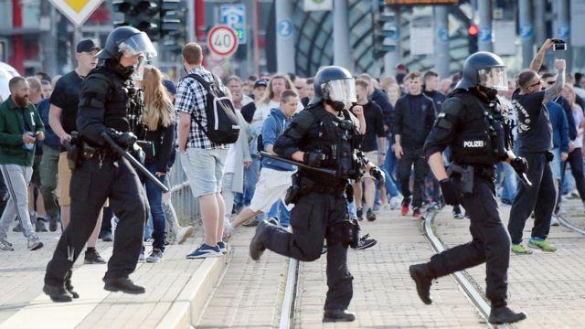 Policía de Chemnitz