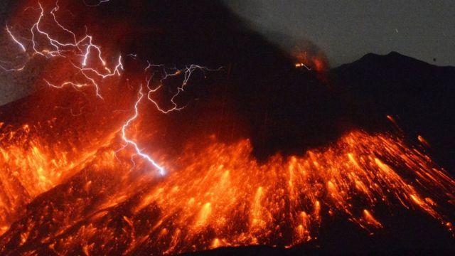 鹿児島県の桜島は今年5月に噴火している