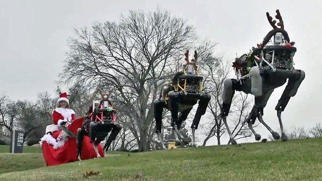 Robot sleigh