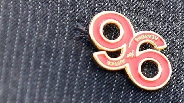 Justice for the 96 badge