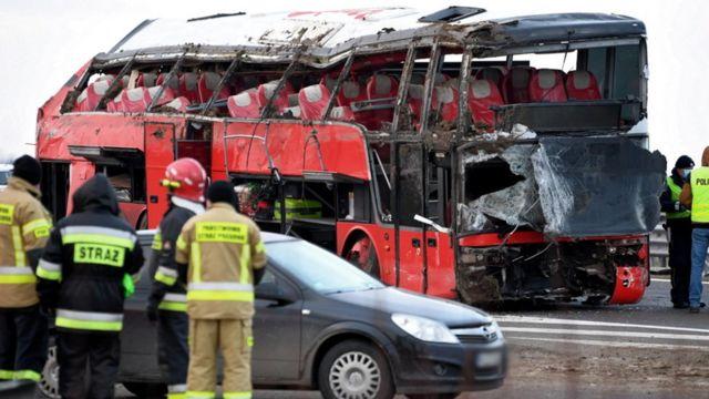 Автобус у Польщі