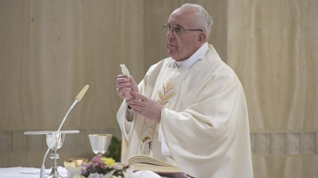 Pope Francis TED talk says powerful leaders must be humble