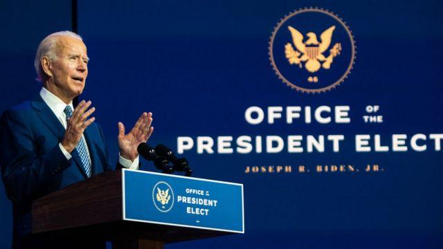 الرئيس المنتخب جو بايدن مازال يمضي قدما في خطط انتقال السلطة.