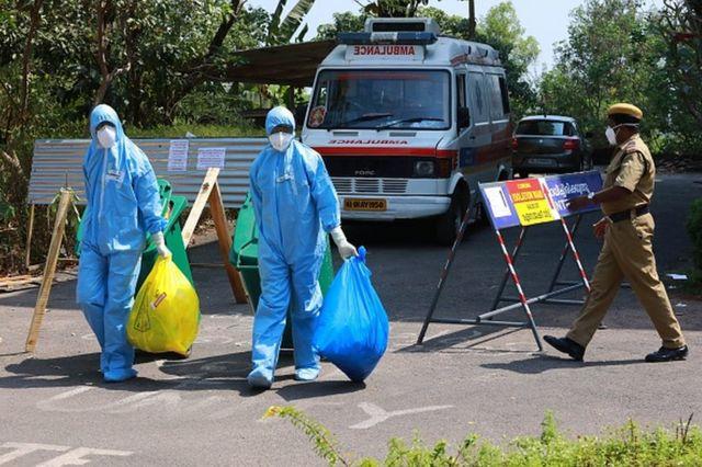 Operativos de sanidad en Kerala