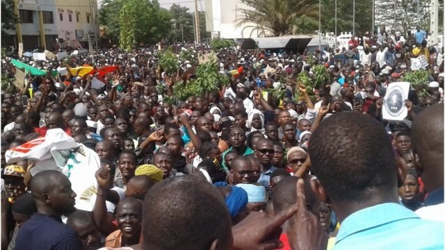 Certains manifestants pensent que jamais autant de monde n'a pris part à une manifestation à Bamako durant ces dernières années.