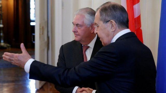Тиллерсон и Лавров обсудили будущее президента Сирии Башара Асада