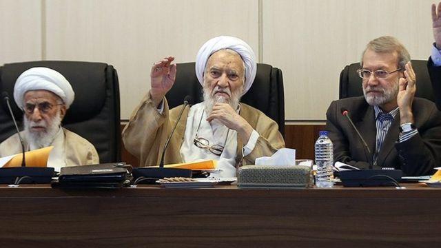 لاریجانی، موحدی کرمانی و جنتی