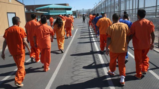 Prisioneros en Estados Unidos
