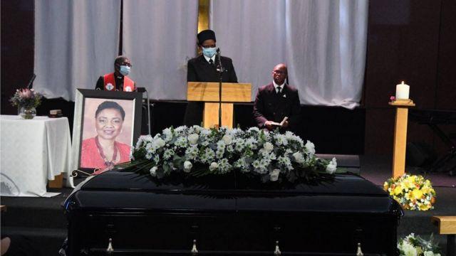Burial of Hlengiwe Mkhize