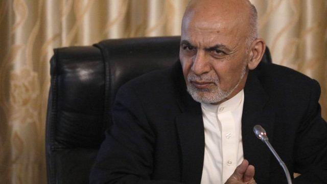 Ashraf Ghani mu kiganiro n'abamenyeshamakuru haraheze igihe