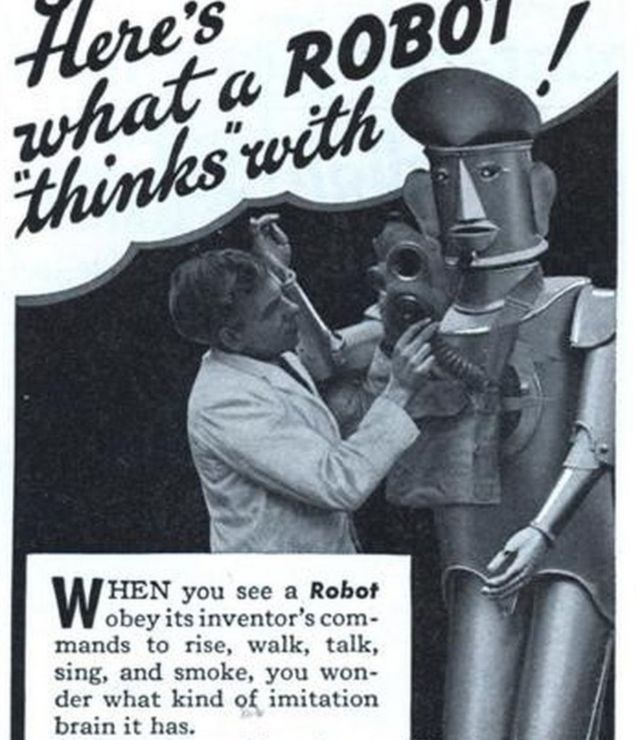 What happened to Robert the smoking robot?