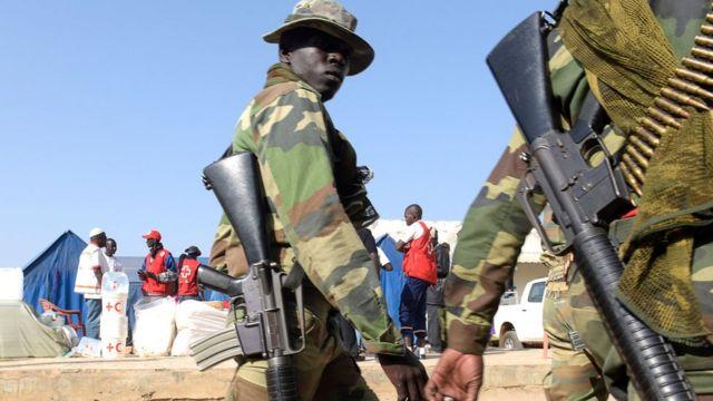 جنود سنغاليين