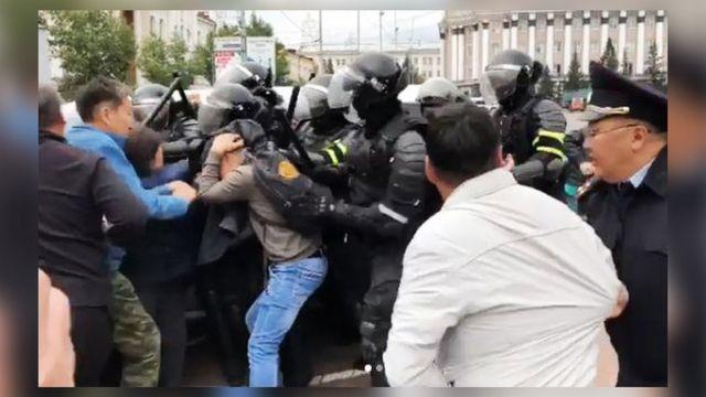 Задержания в Улан-Удэ