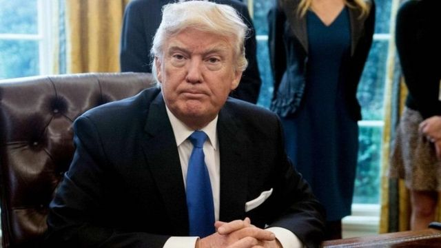 Prezida mushasha wa Amerika Donald Trump