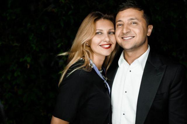 зеленский и его жена