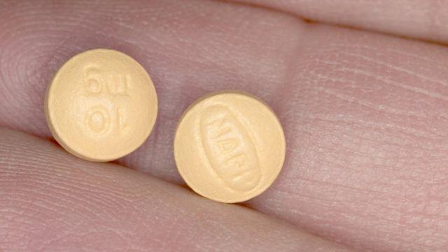 Pastillas de morfina