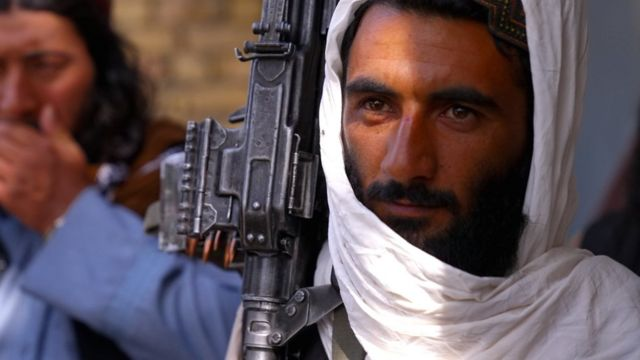 Talibanes en Balkh.