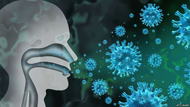 Virus nose graphic