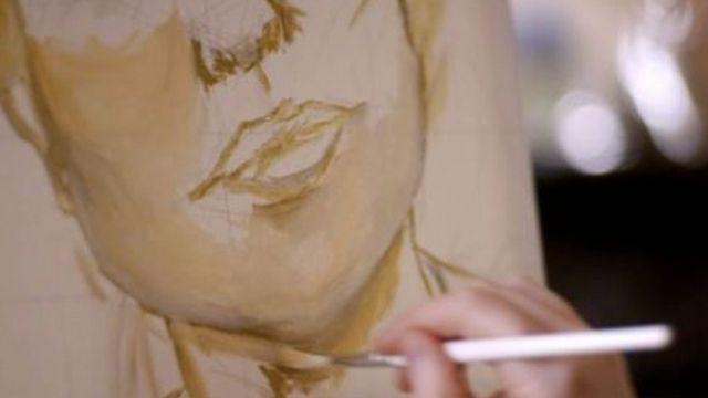 Lien voli da crta i slika