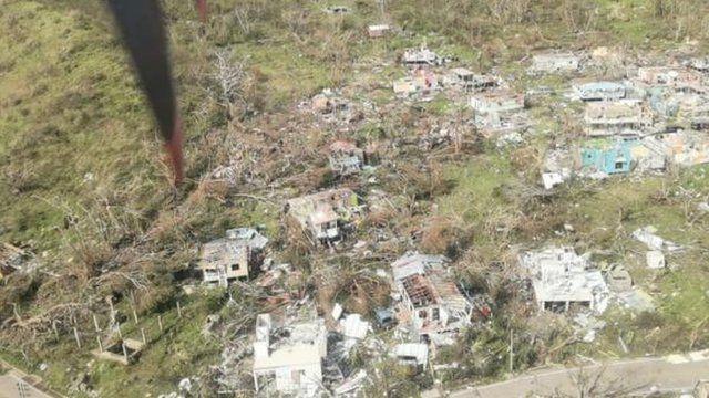 Imagen aérea de Providencia